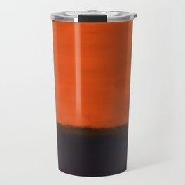 Rothko Inspired #18 Travel Mug
