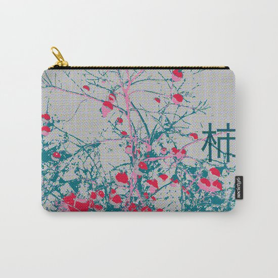 Kaki Tree (Lost Time) Carry-All Pouch
