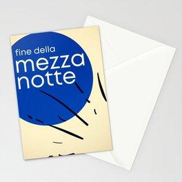 Fine Della Mezza Notte Stationery Cards