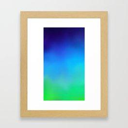 sky. Framed Art Print