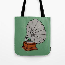 Grammophone Tote Bag
