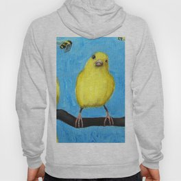 Busy Bees and Canaries Hoody