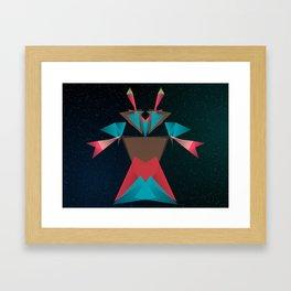 Opera Crab Framed Art Print