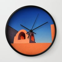 greek Wall Clocks featuring Greek Architecture by DiFer83