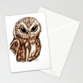 Wise 'Ole Owl Stationery Cards