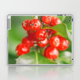 Holly berries Laptop & iPad Skin