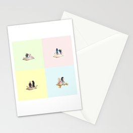 swan queen: our story Stationery Cards