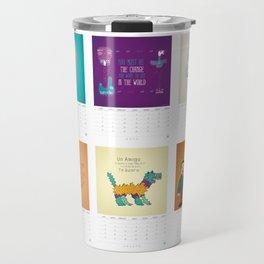 Calendario / Calendar / Calendrier 2013 Travel Mug