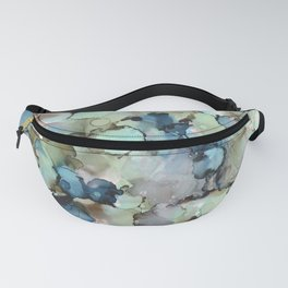 Alcohol Ink Sea Glass Fanny Pack