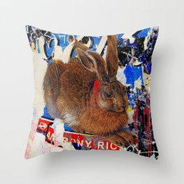 Covert and discovered history #44 Throw Pillow