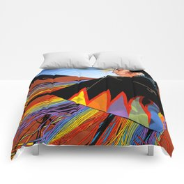 Shawl Dancer Comforters