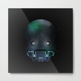 K-2SO Shadow Metal Print
