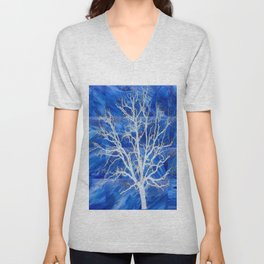and the seed became tree Unisex V-Neck