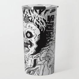 grimes - visions cover art - Travel Mug