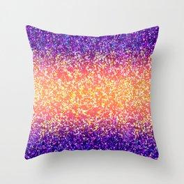 Glitter Graphic Background G106 Throw Pillow