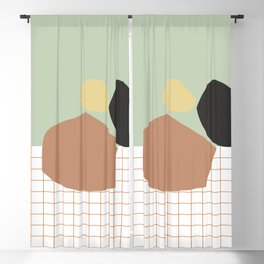 Autumn Tones #pantone #decor Blackout Curtain