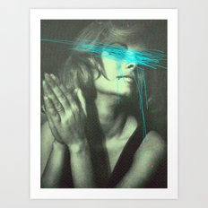 Untitled Woman Art Print