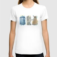 dr who T-shirts featuring Dr Who by Iris Illustration