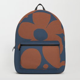 Abstraction_Floral_Pattern_Art_Minimalism_001 Backpack