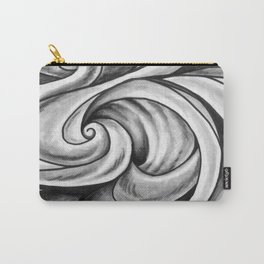 Swirl (Gray) Carry-All Pouch