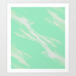 Greener on the Other Side Art Print