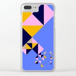 Moroccan Magic Walls Clear iPhone Case