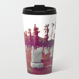 The death of California Travel Mug