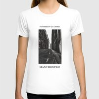 manchester T-shirts featuring China Lane MANchester by inkedsandra