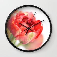 Peony Tulip... Wall Clock