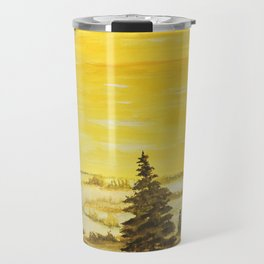 A yellow kind of day Travel Mug