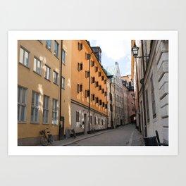 Gamla Stan, Stockholm Art Print