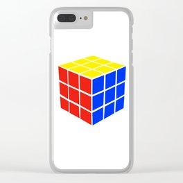 Rubix Clear iPhone Case