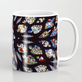 Stained glass sainte chapelle gothic Coffee Mug