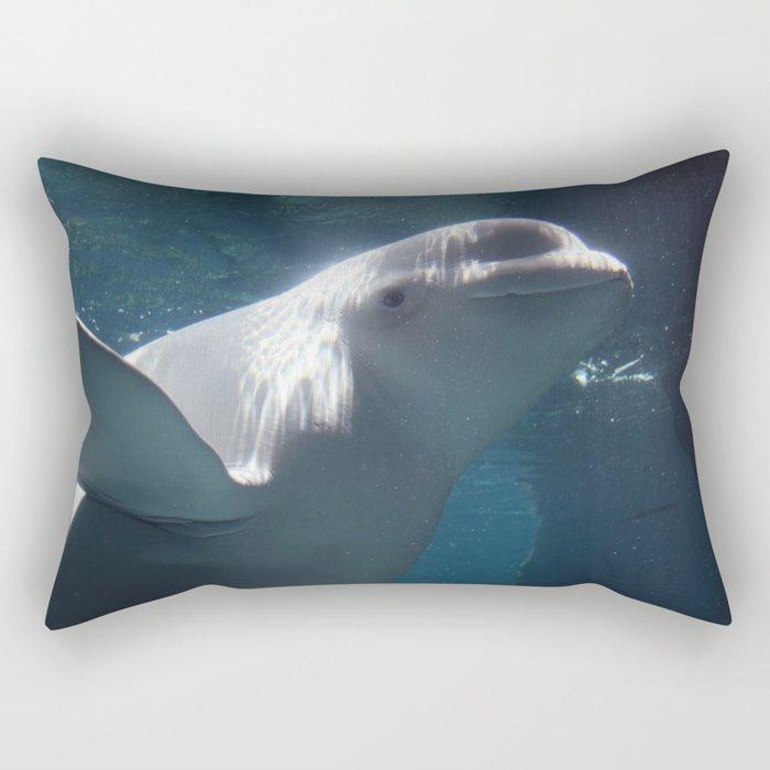 Beluga Rectangular Pillow
