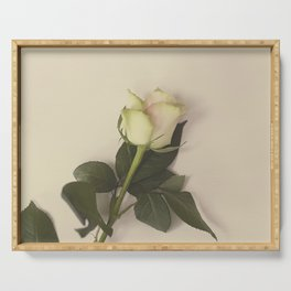 Dusky pink rose Serving Tray
