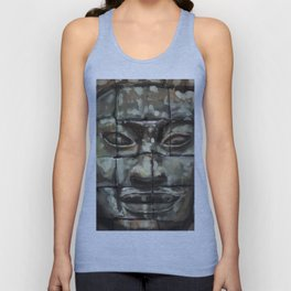 The Face of Angkor Thom Unisex Tank Top