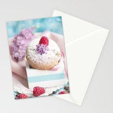 Pink pastel colored muffin stilllfeben Stationery Cards