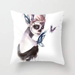 Mourning Throw Pillow