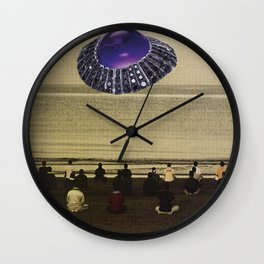 Take me to your leader Wall Clock