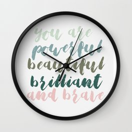 You Are Wall Clock