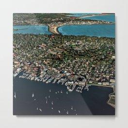 Newport Harbor, Aquidneck Island - Rhode Island Metal Print