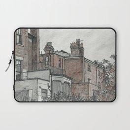 Backyard sketch Laptop Sleeve