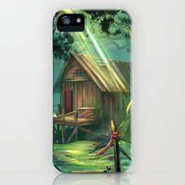 Marisa's House iPhone Case
