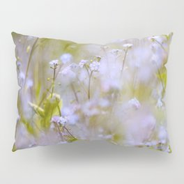 Forget-me-nots On a Windy Day #decor #society6 Pillow Sham