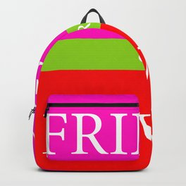 FRIEND or LOVER Backpack