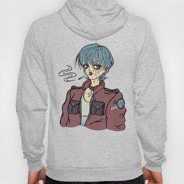 Anime Rock Woman Hoody