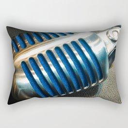 Microphone Rectangular Pillow