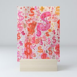 Barbie Money Mini Art Print