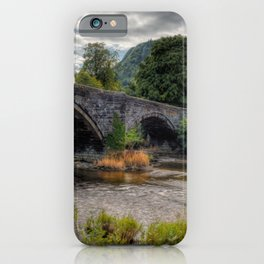 Autumn at Ivy Cottage iPhone Case