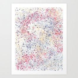 Vintage Abstract 1 Art Print